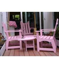 โต๊ะรับแขก (โต๊ะ1 +เก้าอี้3)