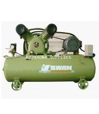 ปั๊มลมสวอน 5 แรงม้า 155 ลิตร 380 โวลต์ MODEL:SVP-205-155L-380V