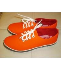 รองเท้าผ้าใบแฟชั่น GIALLO สีส้มมิรินด้า