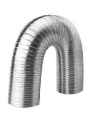 ท่อส่งลมสเตนเลสขนาดเส้นผ่าศูนย์กลาง 5 นิ้ว / Flexible Pipe