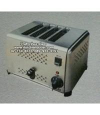 เครื่องปิ้งขนมปัง แบบ 4 ช่อง ยี่ห้อนาโนเทค รุ่น DS-4