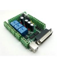 บอร์ด 4Axis CNC interface Board MACH3 0-10VPWM spindle speed