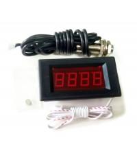 เครื่องวัดรอบ LED Tachometer RPM Speed Meter 3.8-99999 RPM
