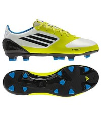 รองเท้าฟุตบอล Adidas F50 Adizero TRX FG White/Blue/Slime