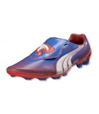 รองเท้าฟุตบอล Puma V1.11 i FG Women Blue/White/Hot-Coral