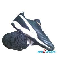 รองเท้าฟุตบอล Puma Para Mexico Lite K Turf Black/White