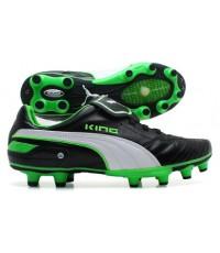 Puma King Finale Black/Green/White EURO 2012