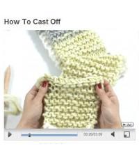 วิธีการจบงานถักนิตติ้งค่ะ (How to cast off)