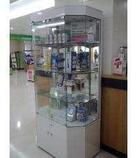 ตู้โชว์ยา ตู้โชว์ผลิตภัณฑ์ยา ตู้โชว์เครื่องเวชกรรม