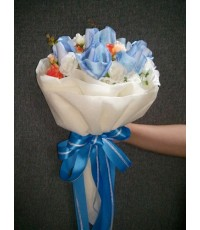 ช่อดอกไม้บูเก้จากธนบัตร