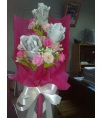 ดอกไม้จากธนบัตร