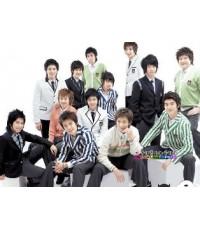 """""""Happy Day With Super Junior"""" รายการสัมภาษณ์ SJ. / ดีวีดี 1 แผ่น ซับไทย สนุกมากๆ"""