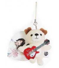 Dooly Couple\'s Teddy Bear Mobile Strap