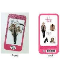 Epoxy Miniature Mobile Strap : Jang Geunsuk with stuff