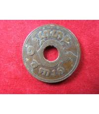 เหรียญกษาปณ์ทองแดง ราคา 1 สตางค์