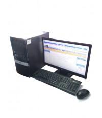 คอมพิวเตอร์ตั้งโต๊ะ HP  Intel Core2Duo +  LCD19นิ้วWide
