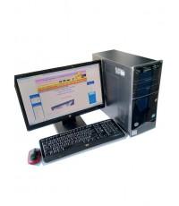 HP Pavilion CPU Core i5 3550 3.3GHz +LED 20นิ้ว ครบชุด ราคา 4,150 บาท