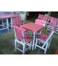 โต๊ะไม้ เก้าอี้ไม้ คุณภาพดี ราคาถูกหาได้ที่ KT เก้าอี้ไม้