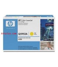 ตลับหมึกโทเนอร์ HP Q5952A (Yellow Toner)