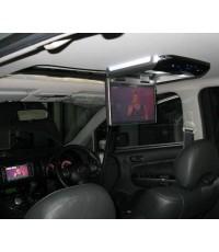 wish มี sunroof รุ่น TOP มี GPS ติดจอเพดาน alpine 11นิ้ว ปลดล็อค ดู DVD ได้ตลอดเส้นทาง