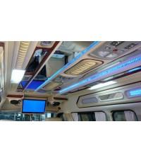 ตัวอย่างcommuter ตกแต่ง VIPติดกระจกบนเพดาน โซฟา 8ที่นั้ง