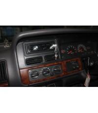 jeep grand cherokee ติดวิทยุ CD/MP3/USB pioneer ทำกรอบหน้าใหม่ สวยๆ เดินระบบเครื่องเสียงใหม่