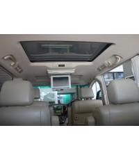 ตัวอย่าง Toyota ALPHARD ติดจอเพดาน และ 2dinpioneer