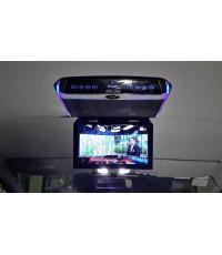 ตัวอย่าง HONDA stepwagon ปี 2009 - 2013 ติดจอเพดาน และ ดิจิตอลทีวี