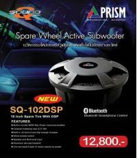 ซับบ็อก PRISM ติดตั้งในหลุมยางอะไหล่ รุ่น SQ0102DSP