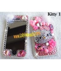 อุปกรณ์ตกแต่งiPhone แต่งมือถือแบบ Kitty1