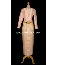 ชุดไทยบรมพิมาน TB 000180