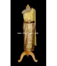 ชุดไทยจักรีเด็ก CD 000411