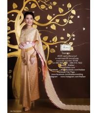 ชุดไทยศิวาลัย สีโอล์ดโรส TSM 000876