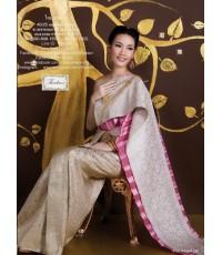 ชุดไทยศิวาลัย สีกลีบบัว TSM 000885