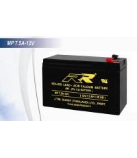 แบตเตอรี่แห้ง RR MP7.5A-12V 12V 7.5Ah VRLA