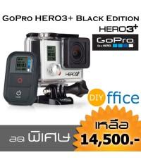 GoPro HERO3+ Black Edition เล็กลง น้ำหนักเบาลงเยอะ แรงสุด สุด