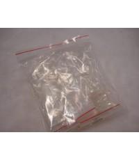 เล็บ PVC ใสชนิดสั้น เกรดเอ บรรจุในถุง จำนวน 500 ชิ้น