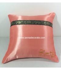 หมอนรับไหว้ ของรับไหว้สีชมพูน่ารักมากเหมาะสำหรับคู่รักบ่าวสาวในงานแต่ง