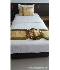 ชุดสินค้าตกแต่งเตียง สำหรับ ตกแต่งรีสอร์ท โรงแรม