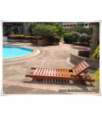 จำหน่ายเตียงอาบแดดริมสระว่ายน้ำ เตียงอาบแดดข้างสระว่ายน้ำ สินค้าทำจากไม้สักแท้การันตีคุณภาพ