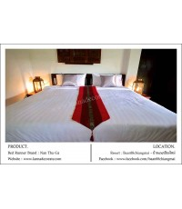 ผ้าคาดเตียงผ้าไหม ผ้าคาดโต๊ะ ผ้าคาดเตียงสปา ผ้าคาดเตียงโรงแรม ผ้าคาดเตียงรีสอร์ท