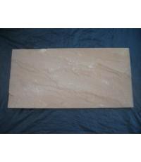 หินทรายตัดขอบ 30 x 60 ซม. เหลือง