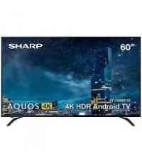 60 นิ้ว ANDROID TV 4K UHD  SHARP รุ่น 4T-C60CK1X TEL TEL 0899800999 LINE @tvtook