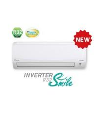 แอร์ Daikin รุ่น Inverter Smile Plus FTKC09QV2S น้ำยา R32 ขนาด 8,500 BTU