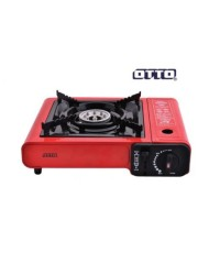 OTTO เตาแก๊สปิคนิค รุ่น GS-800 ( พร้อมกระเป๋า ) Red