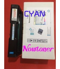 หมึกเทียบเท่าริโก้ RICOH สีฟ้า น้ำเงิน CYAN สำหรับ  PC300W MC250FWB