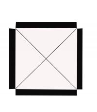 ร่มสนาม ทรงสี่เหลี่ยม