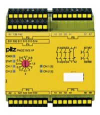 PNOZ XV2.1P C 3/24-240VACDC 2n/o 2n/o t  Product number: 787542
