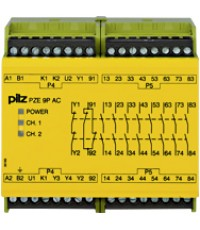 PZE 9P 24VACDC 8n/o 1n/c  Product number: 777140