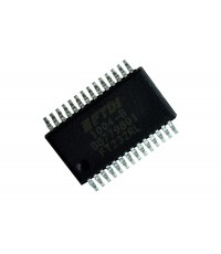 FTDI FT232RL Incorporating Clock Generator Output and FTDIChip-ID Security Dongle